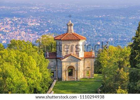 Sacro Monte di Varese, The Assumption of Mary, Fourteenth Chapel Stock photo © LianeM