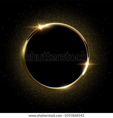 altın · ödül · star · şablon · rozet · çerçeve - stok fotoğraf © kyryloff