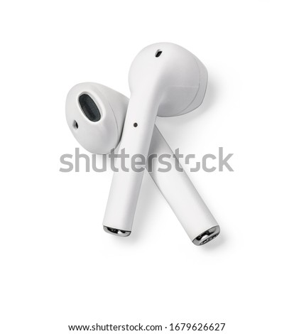 Draadloze geïsoleerd witte kant Stockfoto © magraphics