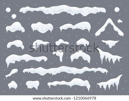 Navidad nieve caer azul nevadas Foto stock © olehsvetiukha