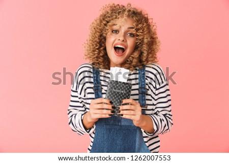 Foto surpreendido mulher 20s Foto stock © deandrobot