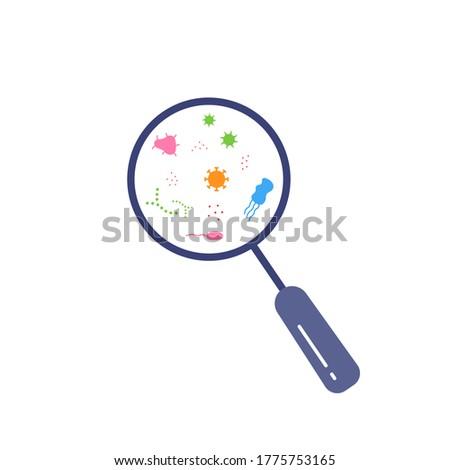 bacilusok · gyűjtemény · rajz · természet · test · zöld - stock fotó © imaagio