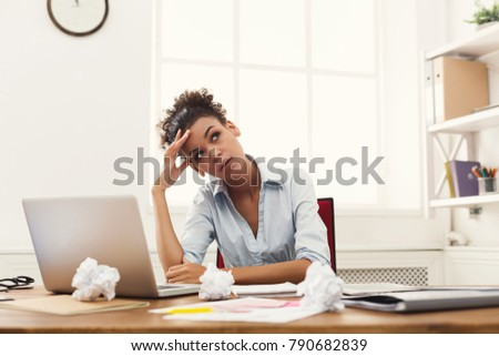 busy person at work concept hard work concept hands with smart phone telephone letter documents stock photo © makyzz