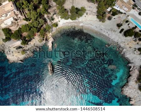 Beira-mar mallorca diretamente acima ponto ver Foto stock © amok