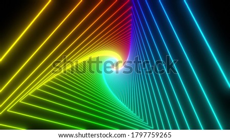 4K Black and Blue triangle geometric pattern abstract background vector stripe line, Vector illustra Stock photo © kyryloff