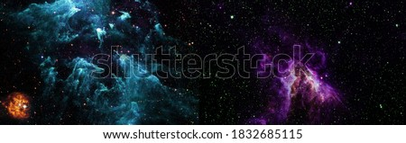 Landscape of star clusters in space. Elements of this image furn Stock photo © NASA_images