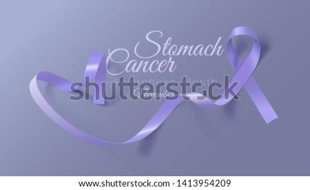 Mide kanser farkında olma ay gerçekçi şerit Stok fotoğraf © olehsvetiukha