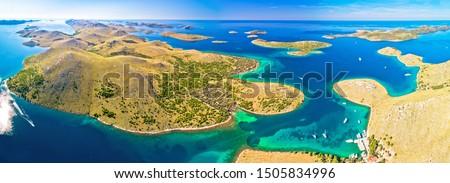 asombroso · parque · archipiélago · paisaje - foto stock © xbrchx
