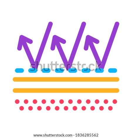 Protection Against External Factors Icon Vector Outline Illustration Stock photo © pikepicture