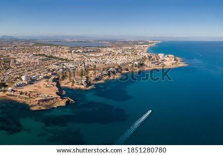 Antenne fotografie punt resort spaans Stockfoto © amok