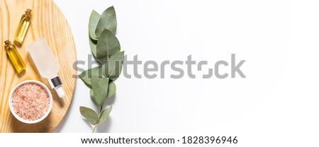 Banner largo formato producto envases zanahoria Foto stock © galitskaya