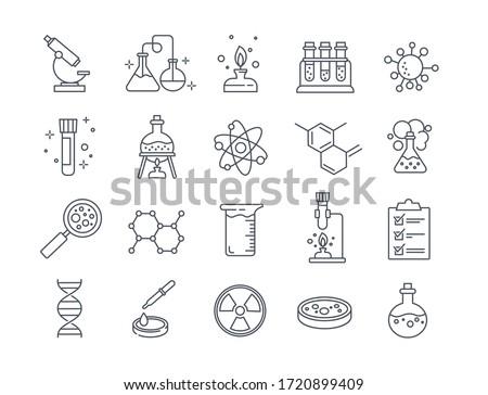 化学 試験管 室 ガラス 放射線 液体 ストックフォト © kyryloff