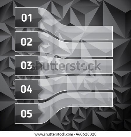 Nézőpont szett átlátszó üveg alacsony sötét Stock fotó © ShustrikS