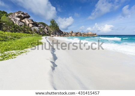 Pristine beach Stock photo © leeser