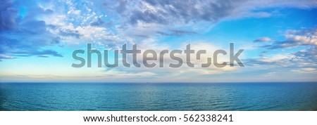 Sea of clouds. Stock photo © lithian