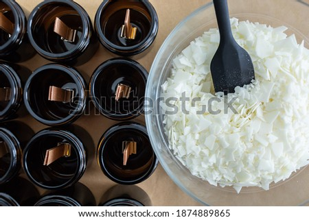 candle manufacture Stock photo © marylooo