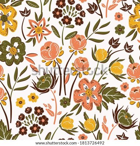 美しい シームレス ベクトル ピンク 花 デザイン ストックフォト © isveta