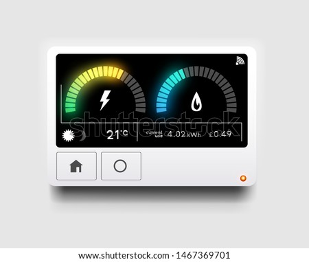 Energy Meter Stockfoto © solarseven