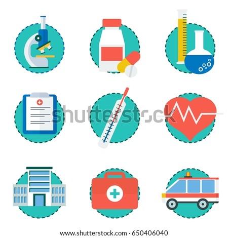 World health day syringe bright colorful medical symbol illustra Stock photo © bharat