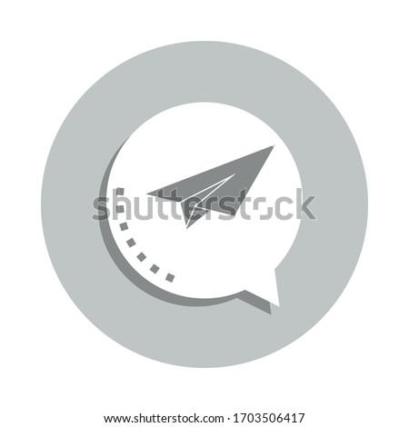 exército · avião · branco · ilustração · tecnologia · arte - foto stock © leonido
