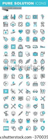 Vetor gráfico suprimentos médicos saúde longo Foto stock © feabornset