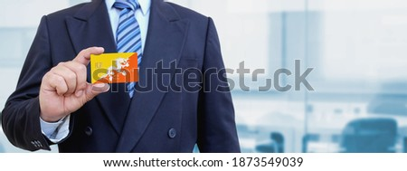 bandeira · Butão · água · abstrato · mundo · terra - foto stock © tkacchuk