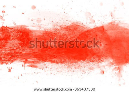 colorful stripes watercolor paint on canvas super high resolution and quality background stock photo © photocreo