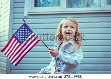 日 米国 エンブレム 白い家 アメリカ 愛国的な ストックフォト © popaukropa