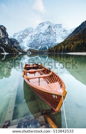 Magnifique alpine lac emplacement lieu parc Photo stock © Leonidtit