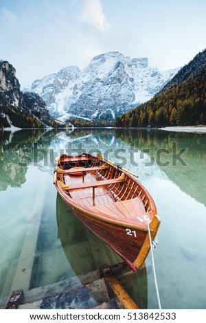Alpino lago localização lugar parque Foto stock © Leonidtit