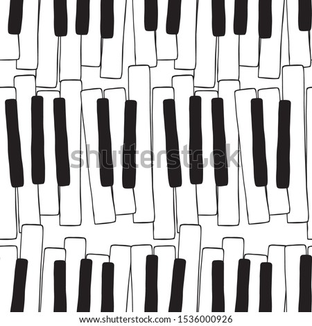 vleugelpiano · patroon · naadloos · musical · vector · muziek - stockfoto © maryvalery