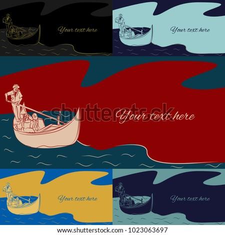 愛する カップル 女性 男 ボート ヴェネツィア ストックフォト © NikoDzhi