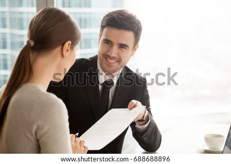 Werknemer business pak gelukkig Stockfoto © pikepicture