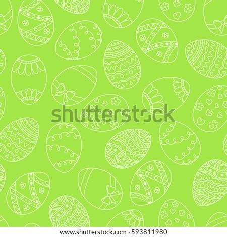Joyeuses pâques œuf de Pâques vecteur modèle Photo stock © Natali_Brill