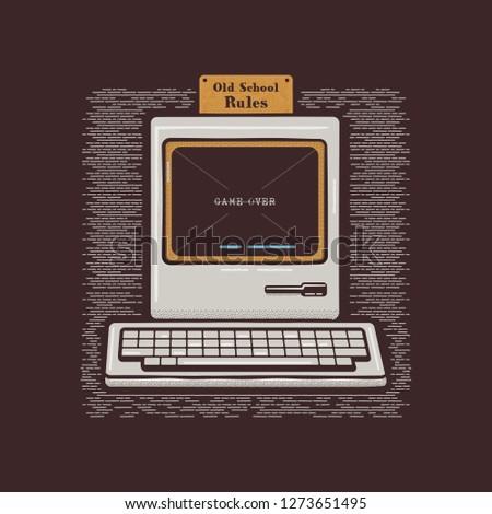 computer · moederbord · geïsoleerd · witte · achtergrond · groene - stockfoto © jeksongraphics