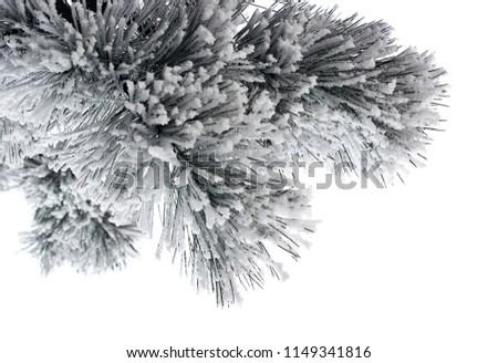 árvore · de · natal · isolado · cinza · esboço · cartão - foto stock © Lady-Luck