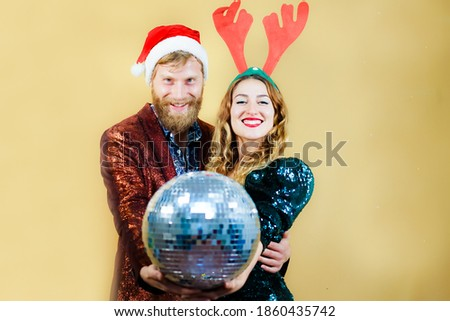 Cheerful young smartly dressed wearing red hats Stock photo © deandrobot