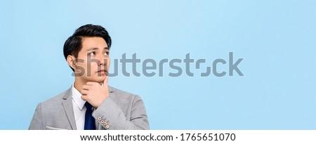 portret · elegante · man · smoking · naar - stockfoto © feedough