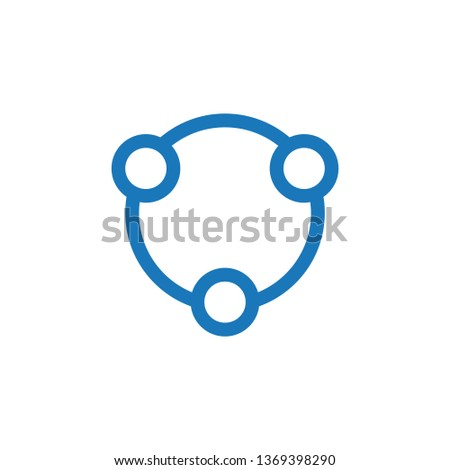 vektör · basit · takım · ikon · şirket · tasarım · şablonu - stok fotoğraf © kyryloff