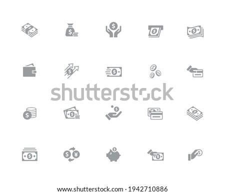 business · financieren · iconen · witte · vector · werk - stockfoto © Palsur