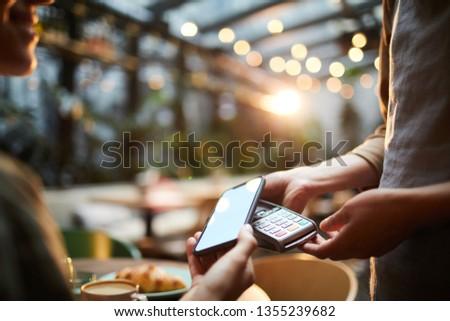 неузнаваемый клиентов смартфон оплата Сток-фото © pressmaster