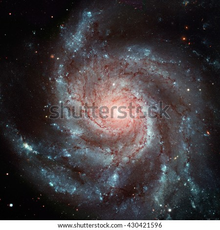 Galaxie Spirale Konstellation 101 Bild wenig Stock foto © NASA_images