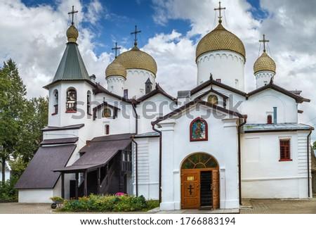 Churches of St. Philip the Apostle and St. Nicholas the Wonderwo Stock photo © borisb17