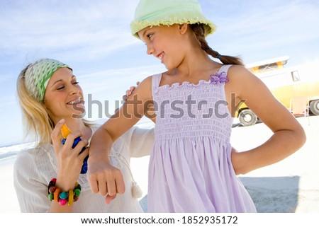 Frente vista amoroso madre hija Foto stock © wavebreak_media
