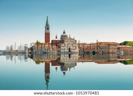 Panoramik görmek su Venedik İtalya Cityscape Stok fotoğraf © artjazz