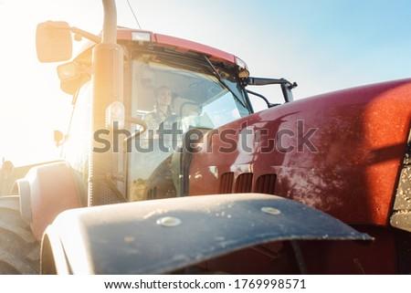 пшеницы транспорт урожай сезон женщину лет Сток-фото © Kzenon