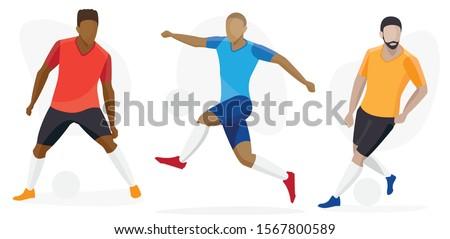 amerikaanse · voetballer · veld · afbeelding · mijn · sport - stockfoto © leonido