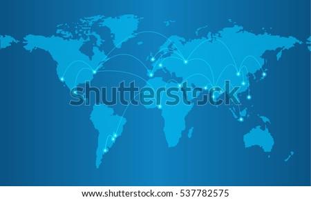 Illustrato foto mondo terra immagine cortesia Foto d'archivio © wavebreak_media