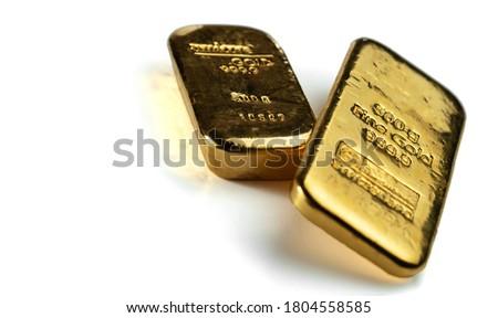 золото · 3d · иллюстрации · многие · баров · металл - Сток-фото © andreasberheide