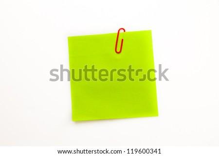 緑 接着剤 注記 クリップ 白 ストックフォト © wavebreak_media
